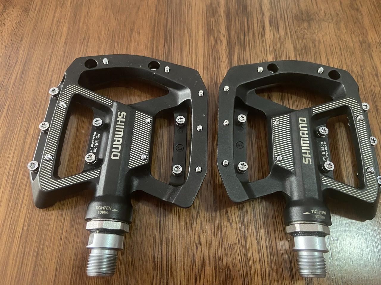 Shimano Flat Pedal PD-GR500 Schwarz