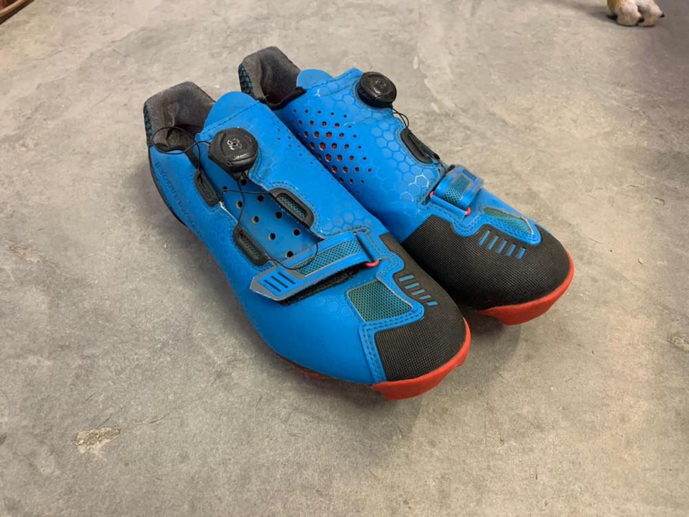 Bontrager Cambion MTB Shoes 45 Blue